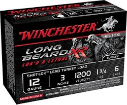 Winchester Long Beard XR 12 Gauge 3 inches 6 Shot Shotshells