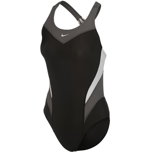 Nike Women's Victory Colorblock 1-Piece Performance Swimsuit