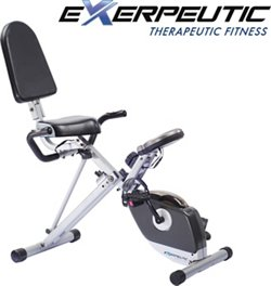 400XL Folding Semirecumbent Exercise Bike
