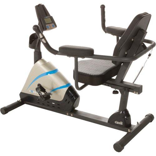 Exerpeutic 2000 High-Capacity Magnetic Recumbent Exercise Bike