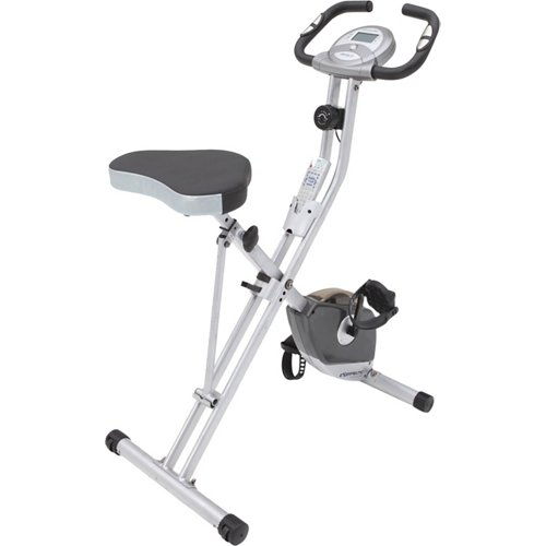 Exerpeutic 250XL Compact Upright Exercise Bike