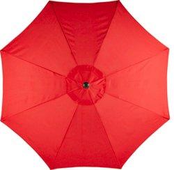 9' Round Steel Market Umbrella