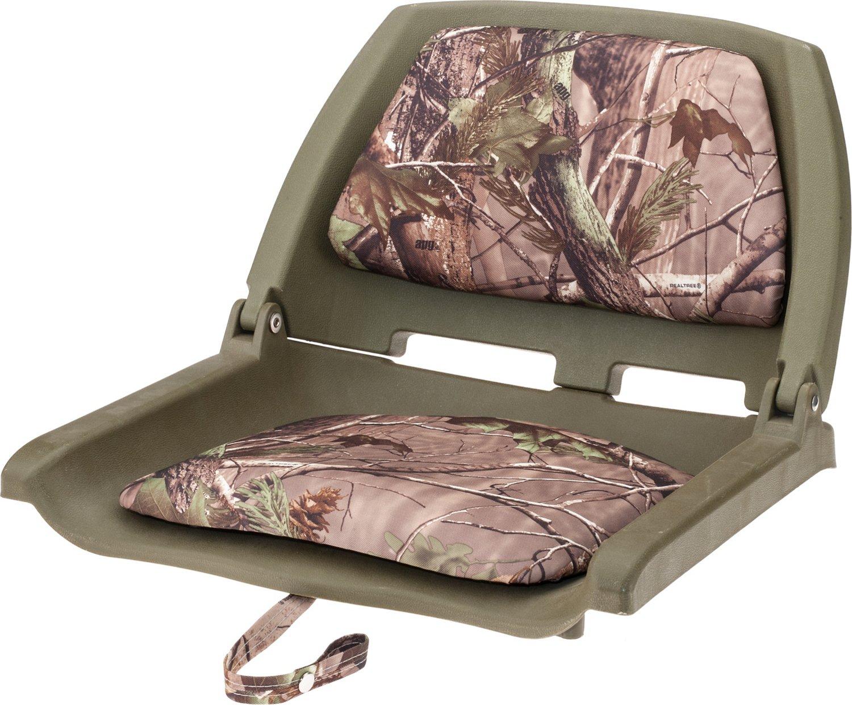 Display product reviews for Marine Raider Realtree Xtra Padded Fold Down Boat Seat