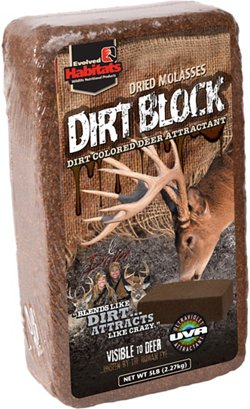 Evolved Habitats 5 lb. Dirt Block Deer Attractant