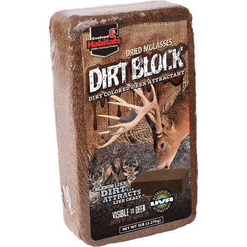 Evolved Habitats 5 lb. Dirt Block Deer Attractant