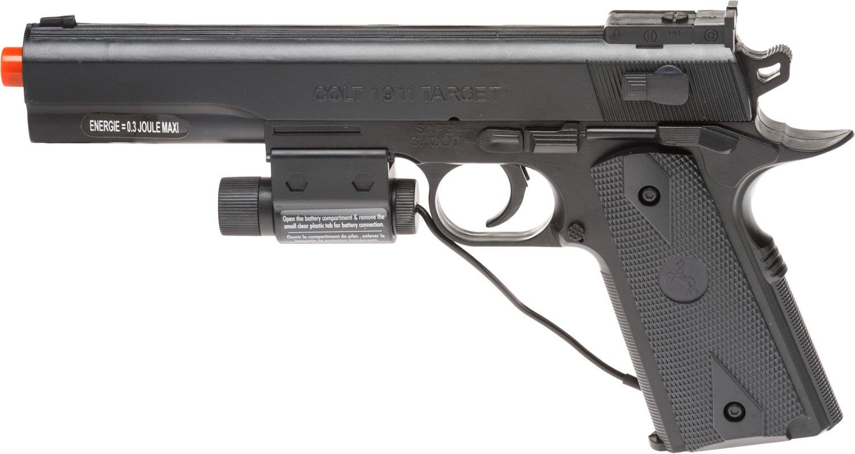 Soft Air USA Colt 1911 6mm Laser Spring Airsoft Pistol