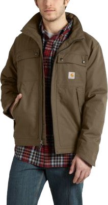 Carhartt Men's Quick Duck Jefferson Traditional Jacket - view number 2