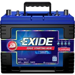 Edge Flat-Plate AGM Marine and RV Starting Battery