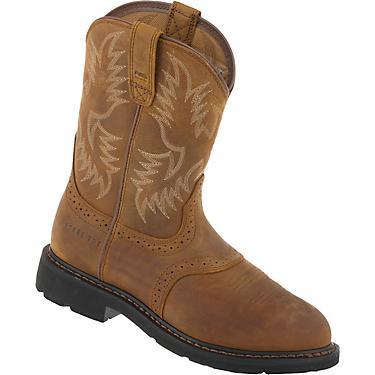 4ff3e870d9e Ariat Men's Sierra Saddle EH Steel Toe Wellington Work Boots