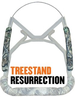 Cottonwood Outdoors Weathershield Treestand Resurrection 18 in Arm Rail Pads 2-Pack