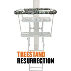 Weathershield Treestand Resurrection 28 in Shooting Rail Pad