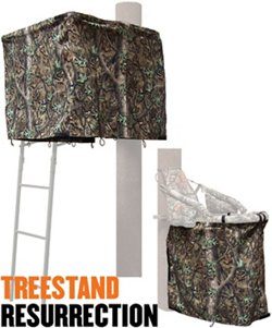 Cottonwood Outdoors Weathershield Treestand Resurrection 1-Panel ADA Blind System Kit