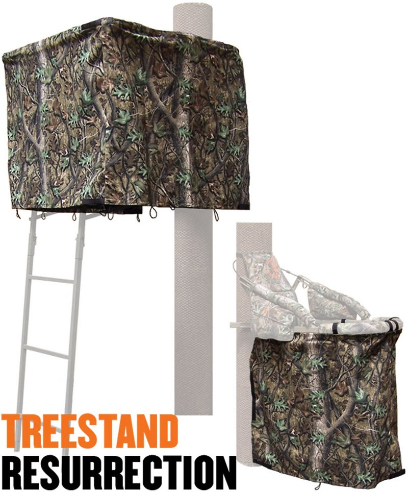 Cottonwood Outdoors Weathershield Treestand Resurrection 2-Panel ADA Blind System Kit - Hunting Stands/blinds/accessories at Academy Sports thumbnail