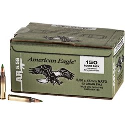 American Eagle XM855 5.56 NATO 62-Grain Centerfire Rifle Ammunition