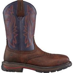 Men's Javelina High Plains EH Steel Toe Western Wellington Work Boots
