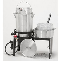 Deluxe Turkey Fryer Kit