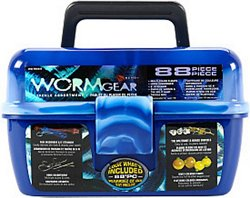 Wormgear 88-Piece Tackle Box