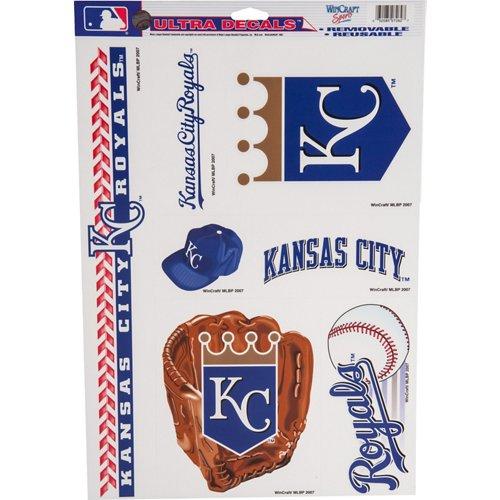 WinCraft Kansas City Royals Ultra Decals 7-Pack