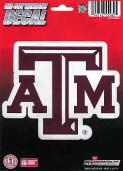 Texas A&M University Die-Cut Decal