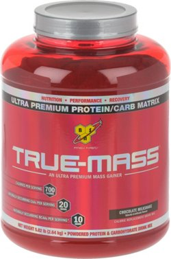 BSN Sports True Mass Chocolate Peanut Butter Protein Powder