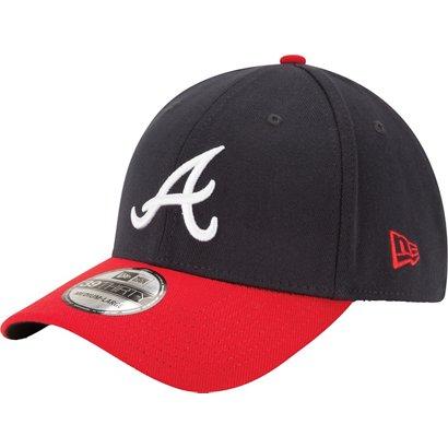 518884c5 ... where can i buy new era mens atlanta braves 39thirty team classic baseball  cap 13093 6e294