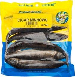 KILLER BEE BAIT Brined Cigar Minnows 6-Pack