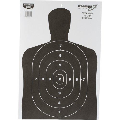 Birchwood Casey® Eze-Scorer™ BC-27 Paper Targets 10-Pack