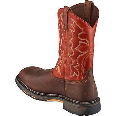 7e9750b96e1 Ariat Men's WorkHog EH Steel Toe Wellington Work Boots