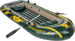 INTEX Seahawk 11 ft 7 in Inflatable Boat Set
