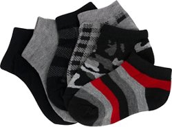 Boys' Ankle Socks 6 Pack
