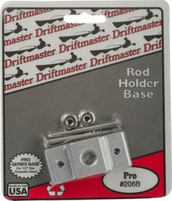 "Driftmaster Pro Series 1/2"" Thread Square Rail Clamp Base"