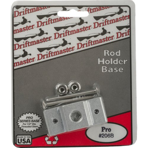 Driftmaster Pro Series 1/2' Thread Square Rail Clamp Base