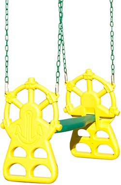 Backyard Discovery™ Ship's Wheel 2-Person Glider
