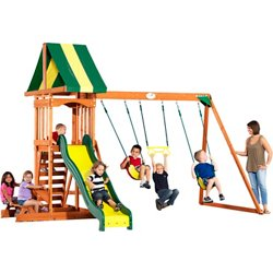 Backyard Discovery™ Prestige Wooden Swing Set