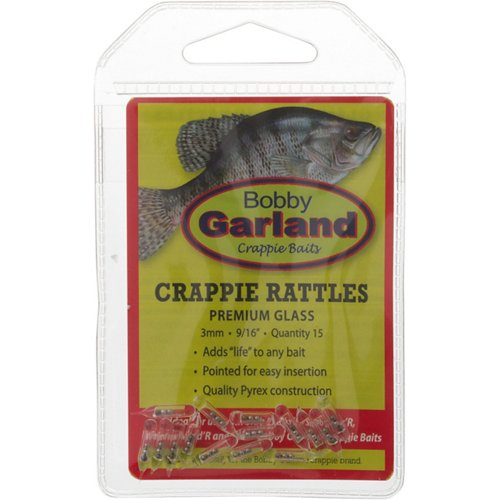 Bobby Garland Crappie Glass Rattles 15-Pack