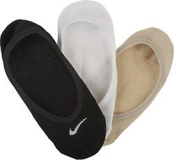 Nike Women's Cotton Footies 3 Pack