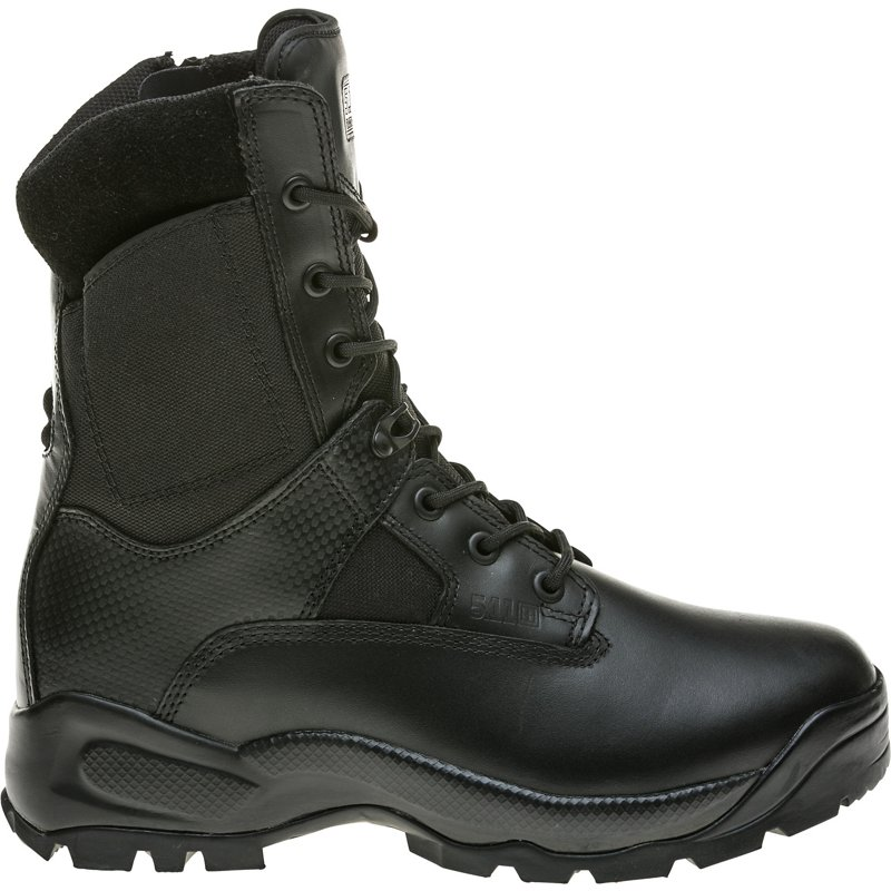 "5.11 Tactical Men's ATAC 8"" Side-Zip Tactical Boots Black, 7 - Service Shoes at Academy Sports - 12001 thumbnail"