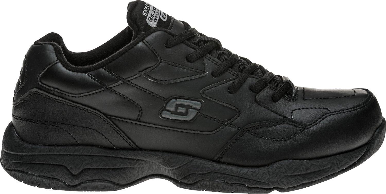 academy sports men's skechers work shoes