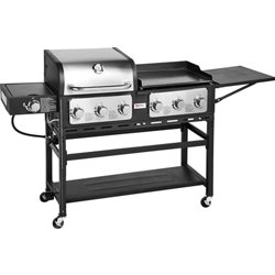 Triton 7-Burner Propane Grill and Griddle Combo