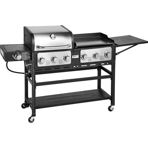 Outdoor Gourmet Triton 7-Burner Propane Grill and Griddle Combo