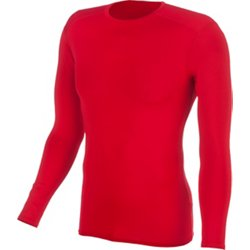 Men's Compression Long Sleeve Crew Neck Shirt