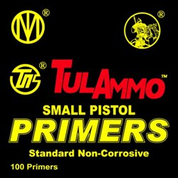 Small Pistol Primers 100-Pack