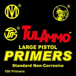 Large Pistol Primers 100-Pack