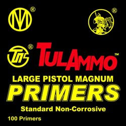 Large Magnum Pistol Primers 100-Pack