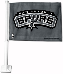 San Antonio Spurs Car Flag