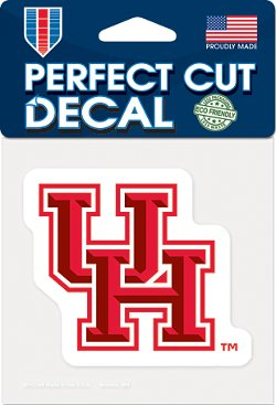 WinCraft University of Houston Perfect Cut Decal