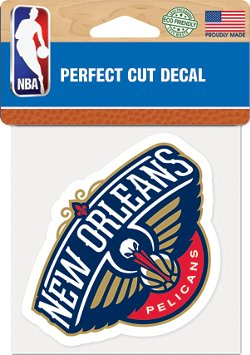 WinCraft New Orleans Pelicans Die-Cut Decal