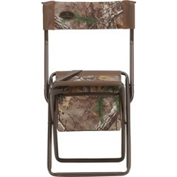 Realtree Xtra Stool with Back