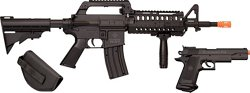 Crosman Elite Front Line Force Airsoft Rifle and Pistol Combo Kit