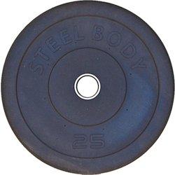 Steelbody 25 lb. Olympic-Size Bumper Plate